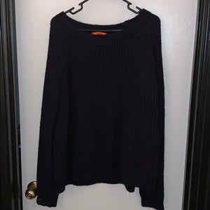 Joe Fresh Navy Sweater in Size Large